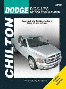 Chilton Repair Manual Dodge Pick-ups, 2002-08