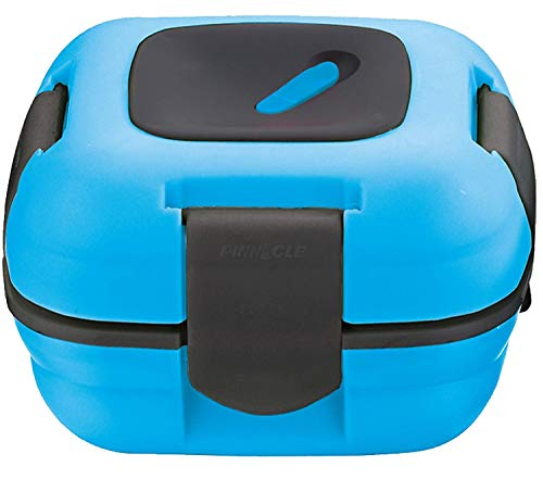 Lunch Box ~ Pinnacle Insulated Leak Proof Lunch Box for Adults and Kids - Thermal Lunch Container With NEW Heat Release Valve, 16 oz ~ Blue