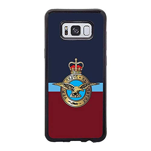 Skinsends Hippie UK Royal Air Force Phone Cover Compatible with Galaxy s8, Hard Plastic Back Case Cover Compatible with Samsung Galaxy -