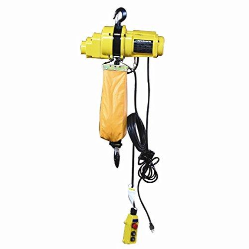 Pierce Sales 1 Ton Chain Hoist With 20' Lift (110V) (Ps65620)