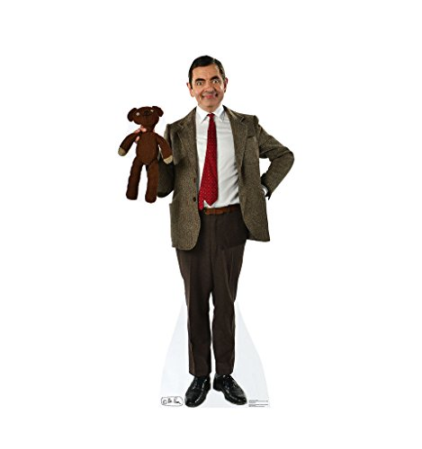 Bean Bear Plush Teddy Mr (Advanced Graphics Mr. Bean & Teddy Life Size Cardboard Standup)