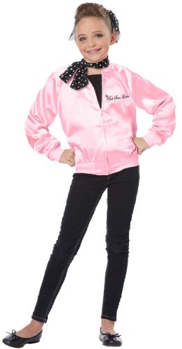 California Costumes The Pink Satin Ladies Child Costume, X-Small