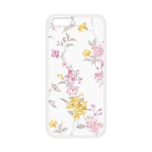 FDXGW466 iPhone 6 Plus 5.5 Inch Cell Phone Case-white_Retro Flower (13)