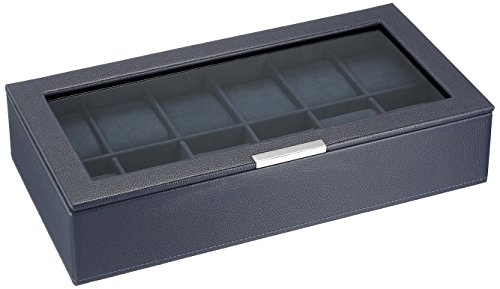 Wolf Designs 309817 Leather Lizard Watch Case