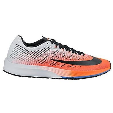 7f84238727b3 Nike Men s Air Zoom Elite 9 Hyper Orange Black-White-Medium Blue 14.0