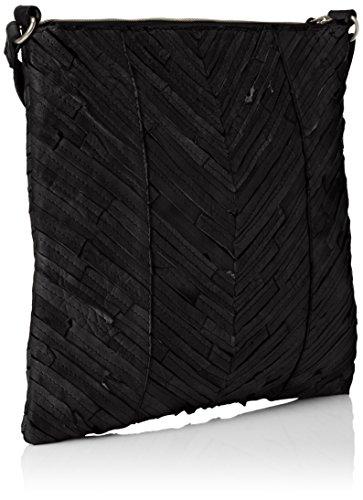 Leather Cross Sacs Bandoulière Noir Pieces Body Pcpiper Black paFx5wqS