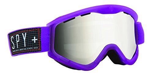 Spy Optic Targa 3 Snow Goggles  Translucent Jazz Frame  Bronze With Silver Mirror Lens