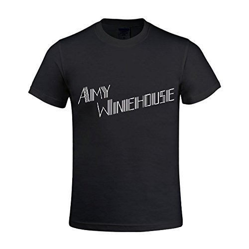 Amy Winehouse Back To Black Deluxe Edition Men Crew Neck Men T Shirts Polo Black