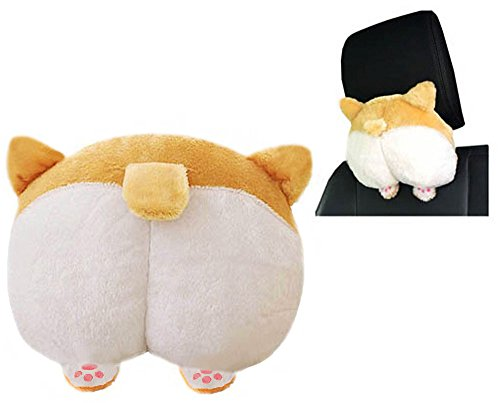 - Corgi Butt Shaped Pets Puppy Plush Toys Doll Car Pillow Cushion Sofa Chair Seat Cushions