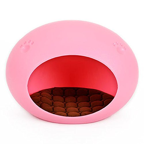 WuKong Pet Egg Shaped Dog Cat House (Pink) by Wukong