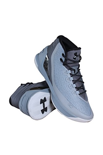 Under Armour - Chaussure de Basketball Under Armour Stephen Curry 3 Grey Matter Pointure - 42