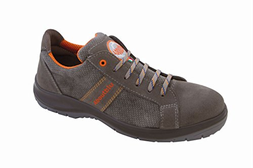 Aboutblu 1928709la35 Houston Low par de zapatos de seguridad, Gris, 1928709LA47