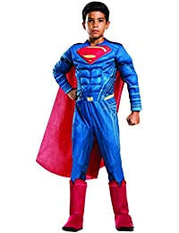 Costume: Dawn of Justice Deluxe Muscle Chest Superman Costume, Small