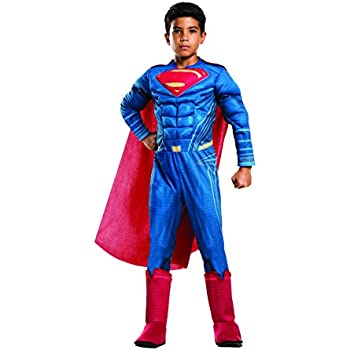 Amazon.com: Rubies DC Universe Superman Costume, Child Small ...