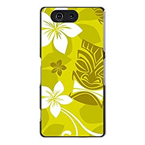 Brand New Plastic PC Case for sony?xperia?Z1 Fresh Flower Print Mobile Cover Case for Girls with Flower Logo Print
