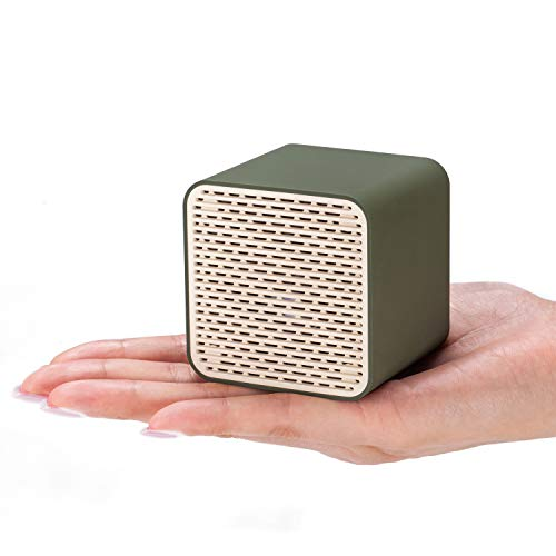 Bluetooth Speakers, LFS Portable Wireless Speaker,Square Mini Speaker with 5W Loud Sound, Rich Bass, Built-in Speakerphone,TWS Supported,Compatible with iPhone Ipad Android Smartphone and More(Green)]()
