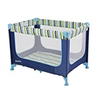 Dream On Me Zodiak Portable Playard, Navy