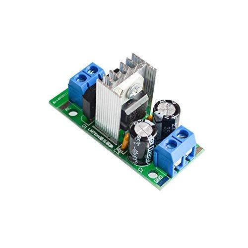 Batcus Step-Down Power Supply Module L7812 Voltage Regulator Filter Rectifier Module AC Output 12V DC 1.5A ()