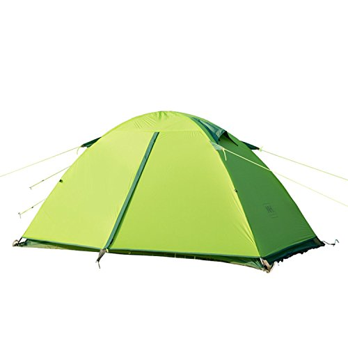 Naturehike-2-Person-3-Season-Ultralight-Camping-Tent-Silicone-Coating-Two-Doors-Double-Layer-Lightweight-Anti-UV-Waterproof-with-Aluminum-Rods-for-Backpacking-Hiking-Travel-Beach