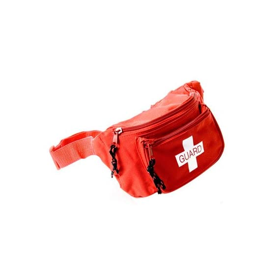 """Kemp 10-103 Hip Pack 1 Kemp USA Hip Packs are made to withstand the rigorous use of EMS professionals and guards in the field. They are made of durable, tear-resistant nylon construction, including a heavy duty adjustable 45"""" waist strap. The hip pack comes with three water-resistant zipper pockets."""
