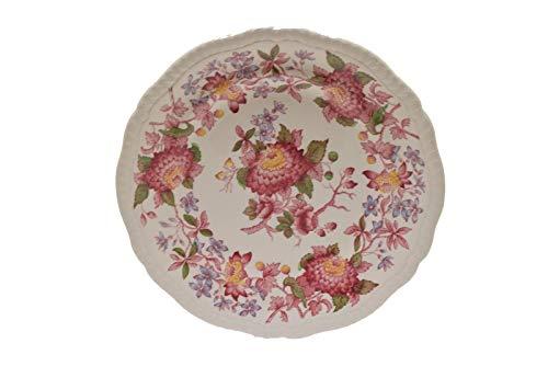 Copeland Spode Spode's Aster Red Salad Plate 8