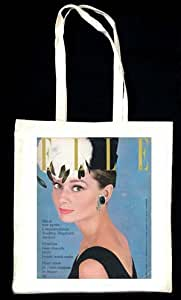 Amazon.com : Audrey Hepburn Elle (French) Jan 1962 Tote
