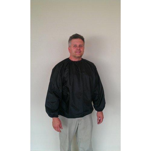 Nylon Black Sauna Suit Jacket - 5XL