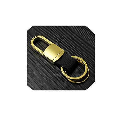 Men Leather Car Metal Key Chain Key Ring Monster Keychain,M