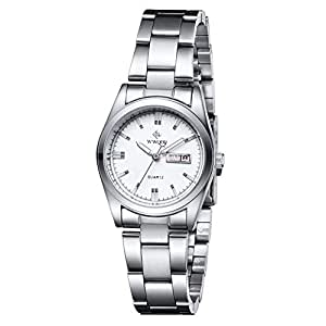 Venta de relojes de pulsera para mujer, oro rosa, fósil, negro, correa