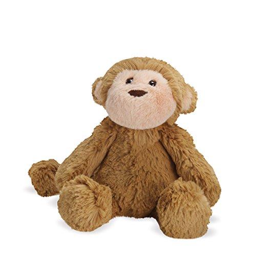 "Manhattan Toy Lovelies Mocha Monkey Plush Animal Toy, 8"""