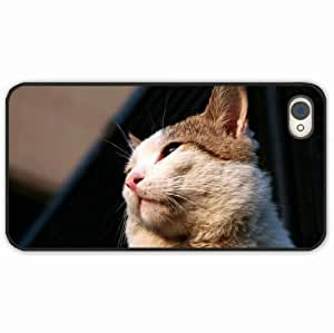 iPhone 4 4S Black Hardshell Case hair Desin Images Protector Back Cover