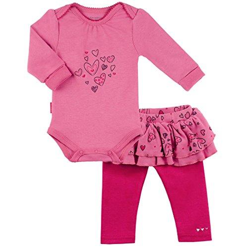 Kushies I Heart You LS Bodysuit and Pant Set (Pink)