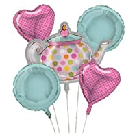 Tea Time Balloon Cluster (5) Party Supplies