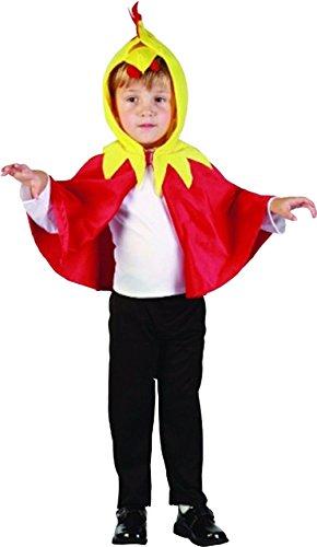 Glossy Look Little Boys' Chick Fancy Dress Chicken World Book Week Day Costume Toddler 2-4 Years (Fancy Dress Chicken)