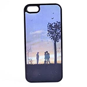 LCJ Fantasy Stereo And Tree Pattern PC Material Phone Case for iPhone 5/5S
