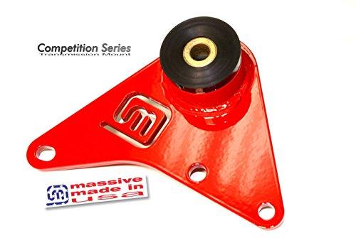 USA MADE - Massive Trans Transmission Mount NEON SRT 4 Turbo Solid 2.4 Engine Motor Lower Super Mirror Red (Srt Mounts 4 Motor)