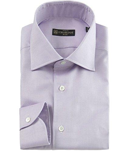 corneliani-slim-fit-textured-shirt-pink-uk16