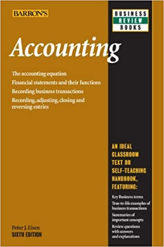 Amazon accounting 6th edition barrons business review series amazon accounting 6th edition barrons business review series ebook peter j eisen kindle store fandeluxe Gallery