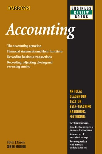 Accounting (Barron's Business Review)