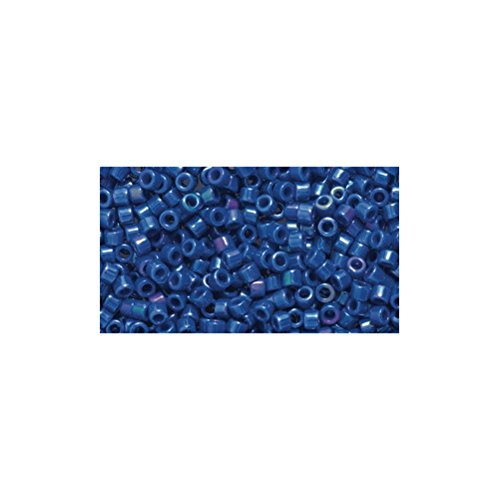 Price comparison product image Miyuki Delica Seed Bead 11 / 0 DB216,  Opaque Royal Blue Iris,  9-Gram / Pack