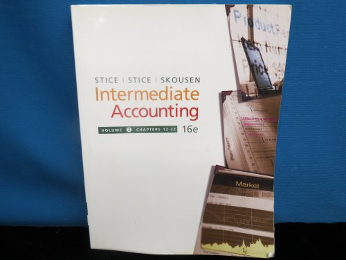 Intermediate Accounting, 16th Edition Volume 2, Chapters 12-22 (with Business and Company Resource C