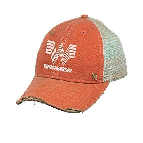 Original Retro Brand The Whataburger Hat  Orange  One Size