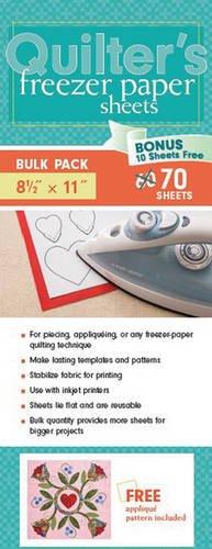 Quilter's Freezer Paper Sheets Bulk Pack