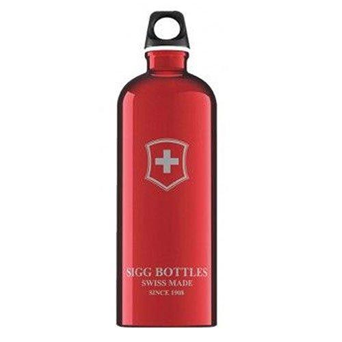 Swiss Emblem - Sigg Swiss Emblem Water Bottle (Red, 1.0-Litre) by Sigg