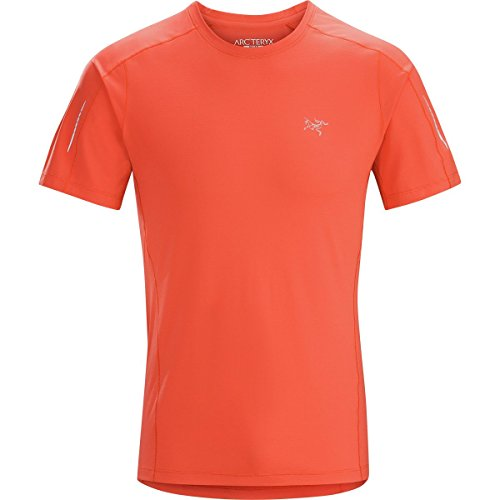Arc'teryx Motus Short-Sleeve Crew Shirt - Men's Ember, L