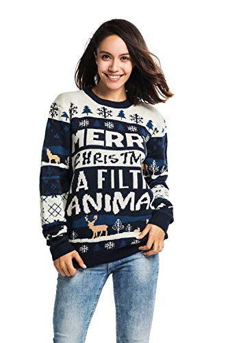 Used, Unisex Men's Knit Christmas Ugly Sweater Funny Fair for sale  Delivered anywhere in USA