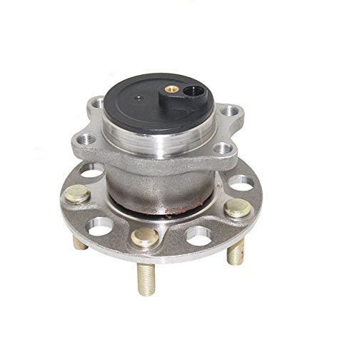 Detroit Axle - FWD New Complete Rear Driver or Passenger Wheel Hub and Bearing Assembly for or 2008-2016 Mitsubishi Lancer w/ABS Only - [2008-2016 Mitsubishi Outlander w/2.4L FWD Only] - Mitsubishi Wheel Hub Assembly