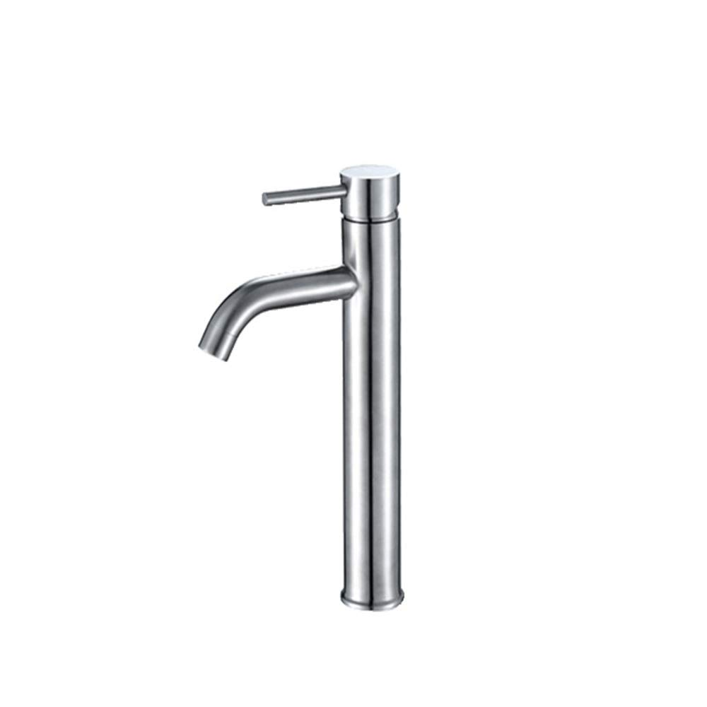 THOR-BEI Faucet-stainless Steel Washbasin Above Counter Basin With High Basin Water Tap -59 Faucet