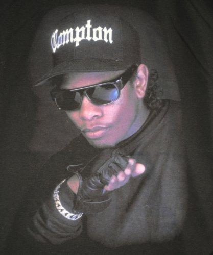 Rappeur Ras e Compton shirt Hip Fact Eazy Noir De Urbain Actual T Hop Cou 1IqwUHU