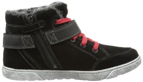 Superfit Amy 10020900 Mädchen Sneaker Schwarz (schwarz 00)